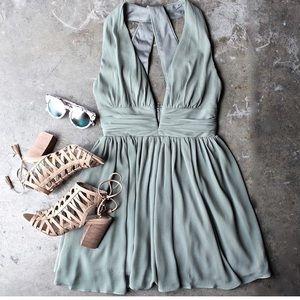 Shophearts green ethereal dress